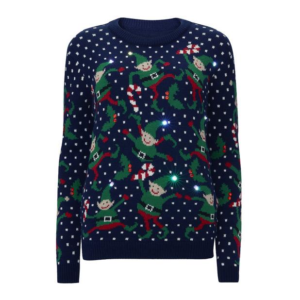High street Christmas jumpers 2014