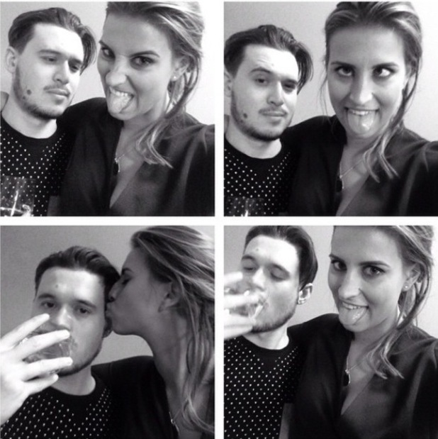 TOWIE's Ferne McCann and Charlie Sims selfies - 19 November.