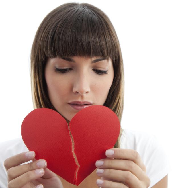 Broken hearted girl