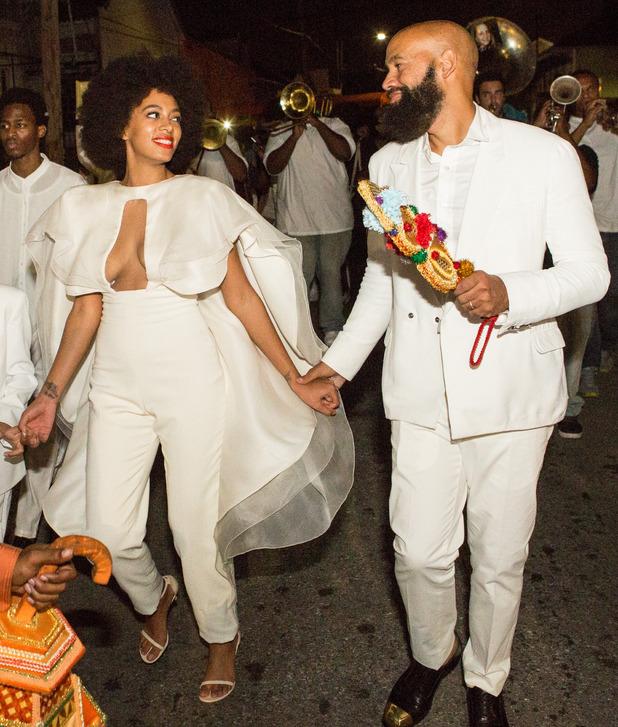 Solange Knowles marries Alan Ferguson in New Orleans, America - 16 November 2014