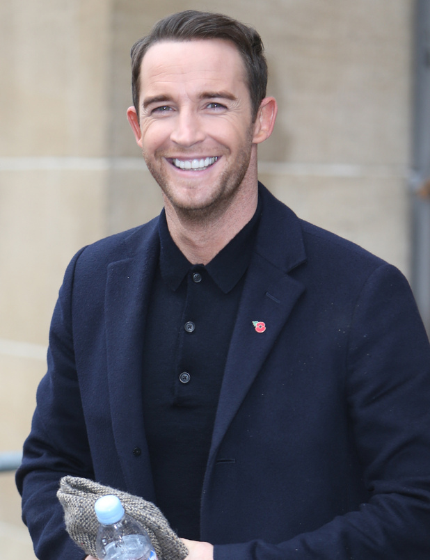 X Factor's Jay James outside the ITV studios 11/17/2014 London, United Kingdom