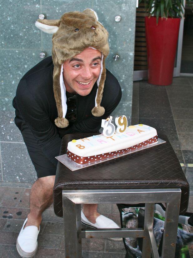 Ant McPartlin celebrates his 39th birthday in Australia - 17 Nov 2014.