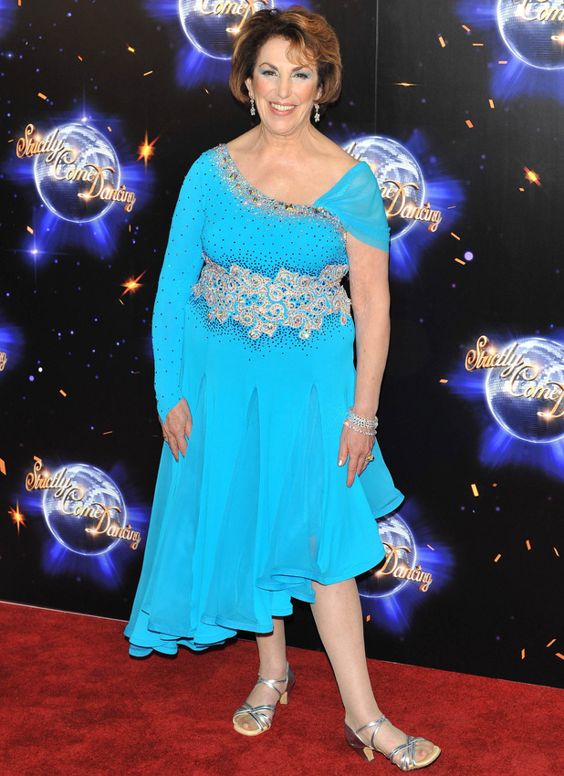 Edwina Currie Strictly Come Dancing launching event held at the BBC Studios. London, England - 07.09.11