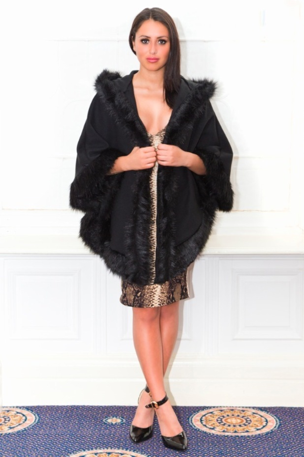 Geordie Shore's Marnie Simpson models her new autumn/winter '14 collection for Lasula - 18 November 2014
