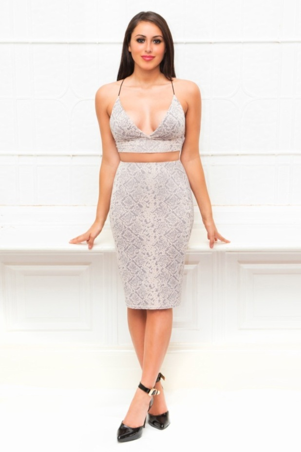 Geordie shore star marnie simpson unveils new clothing collection for