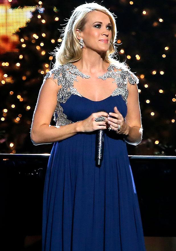 Carrie Underwood at 2014 CMA Country Christmas at Bridgestone Arena, 8 November 2014