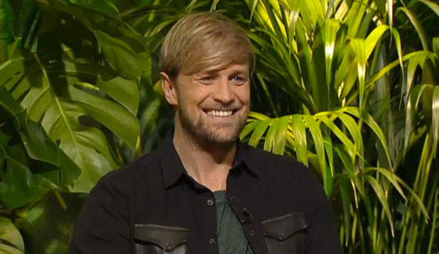 Kian Egan appears on This Morning to discuss I'm A Celebrity, 17 November 2014