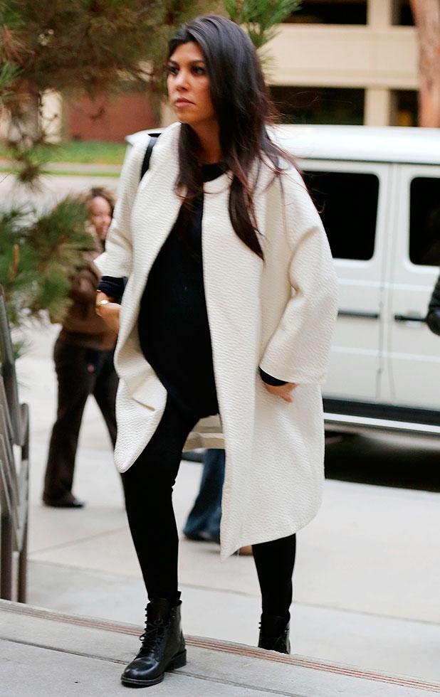 Kourtney Kardashian Baby Shower 2014