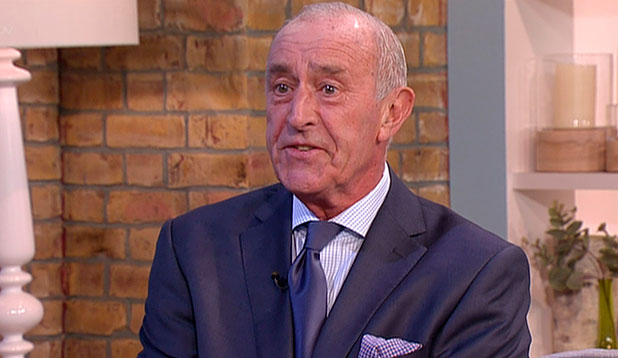 Len Goodman, who is promoting his new book 'Dancing Around Britain', speaking to 'This Morning'. Shown on ITV1 HD.