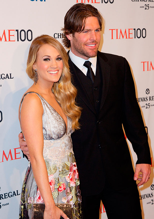 Carrie Underwood and Mike Fisher at TIME celebrates its TIME 100 issue of the 100 most influential people in the world gala at Frederick P. Rose Hall in New York City, 2014