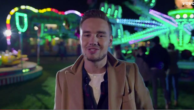 One Direction's Night Changes video screengrab: Liam Payne