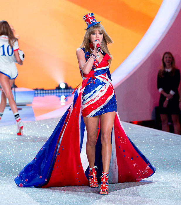 Taylor Swift performs on Victoria Secret Fashion Show 2013 Runway, 2013