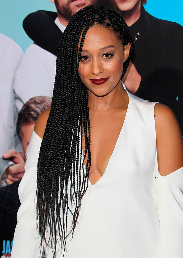 Tia Mowry at the Los Angeles premiere of 'Horrible Bosses 2' at TCL Chinese Theatre - Arrivals, 20 November 2014