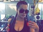 Khloe Kardashian glams up gym session with bold neon orange manicure