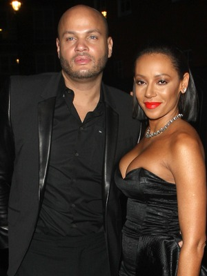 Mel B and Stephen Belafonte attend the Katie Piper Foundation Ball, London, 27 Nov 2014