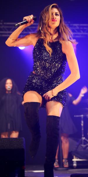Nicole Scherzinger looks sch-mazing at Metro Radio Christmas Live 2014, 28 November 2014