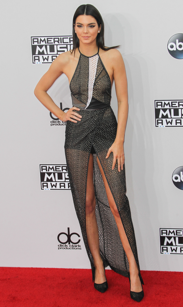 Kendall Jenner attends the 2014 American Music Awards in Los Angeles, America - 23 November 2014