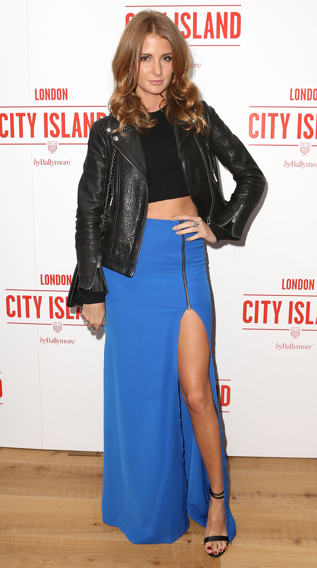 Millie Mackintosh attends the City Island by Ballymore party in London, England - 26 November 2014