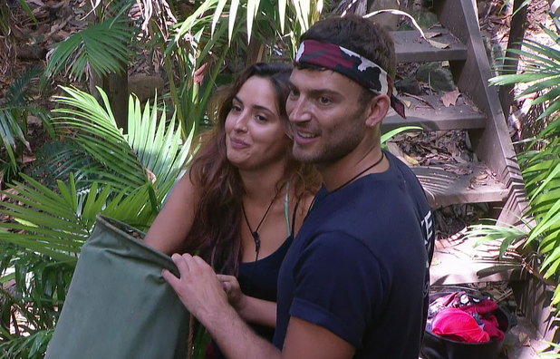 I'm A Celebrity... Get Me Out Of Here! - Jake Quickenden and Nadia Forde -23/11/2014.
