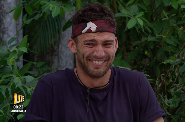 Jake Quickenden is chosen by the public to take on the live bush tucker trial 'The Critter Cube' on 'I'm A Celebrity... Get Me Out Of Here!', Shown on ITV1 HD - 23/11/2014.
