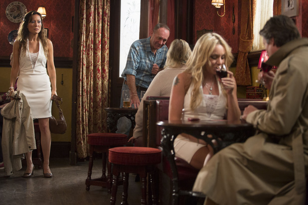 EastEnders, Aleks caught with Roxy, Mon 1 Dec