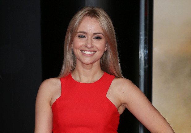 Sammy Winward at the world premiere of 'Edge Of Tomorrow' held at the BFI IMAX - Arrivals - 28/05/2014.