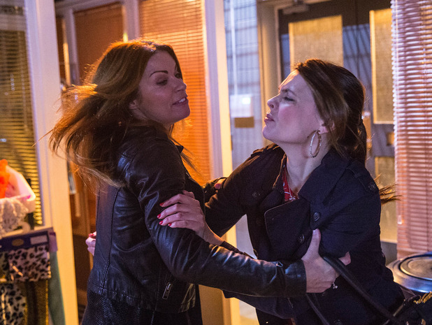 Corrie, Carla and Tracy fight, Wed 3 Dec