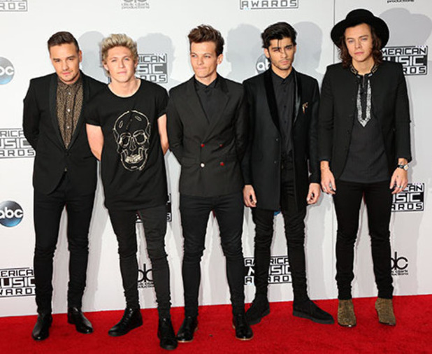 One Direction at the American Music Awards 2014, 23 November 2014