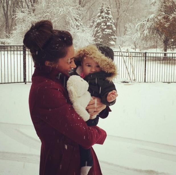 Danielle and Kevin Jonas celebrate first Thanksgiving with Alena Rose - 28 November 2014