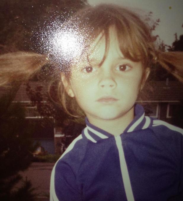 Victoria Beckham shares childhood picture of herself - 27 Nov 2014