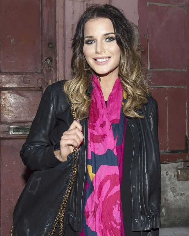 Helen Flanagan at O2 POSSESSED connected technology haunted house in Shoreditch, London, Britain - 28 Oct 2014.