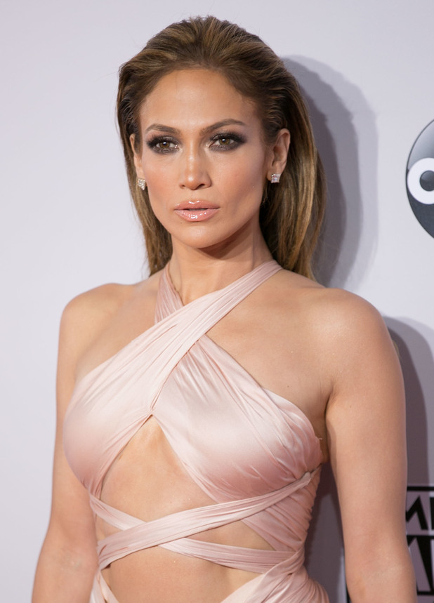 Jennifer Lopez attends the American Music Awards 2014 in Los Angeles, America - 23 November 2014
