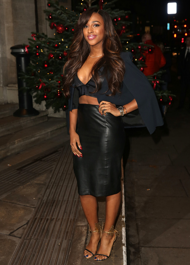 Alexandra Burke attends the RSPCA Animal Hero Awards, London 26 November