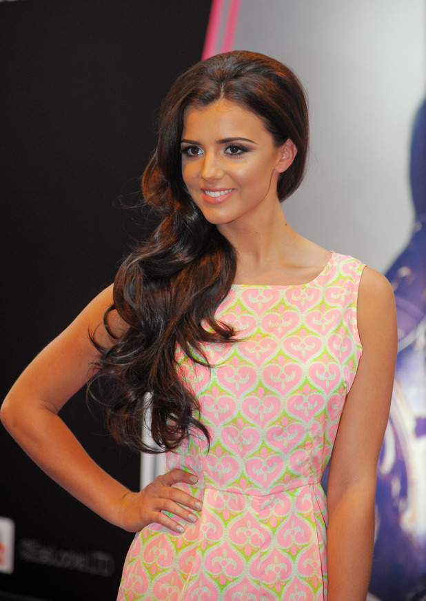 Lucy Mecklenburgh attends Beauty 2014 held at the NEC Birmingham