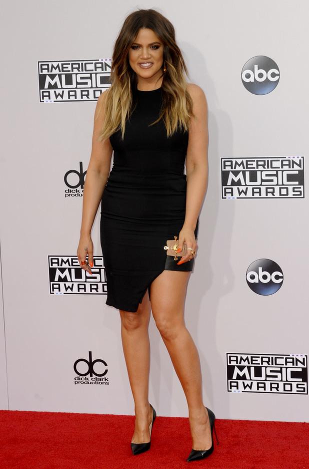 Khloe Kardashian attends the 2014 American Music Awards in Los Angeles, America - 23 November 2014