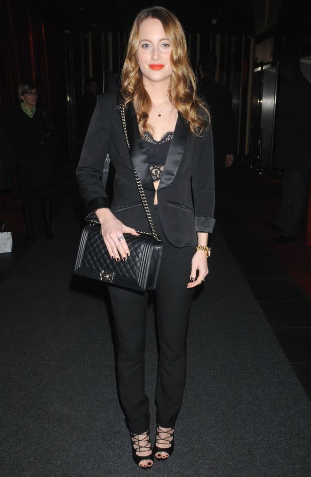 Made In Chelsea's Rosie Fortescue attends the Mishanto London Jewellery Party - 26 November 2014