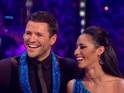 Mark Wright performs the Tango on Strictly, BBC One 22 November