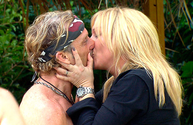 'I'm A Celebrity...Get Me Out Of Here!' TV Programme, Australia - 24 Nov 2014 Pool Party winners - Carl Fogarty and wife Michaela