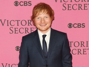 Ed Sheeran at the Victoria's Secret Fashion Show held at the Earls Court Exhibition Centre - Arrivals. 2/12/2014.