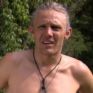 Jimmy Bullard on I'm A Celebrity... Get Me Out Of Here! 25 November 2014.