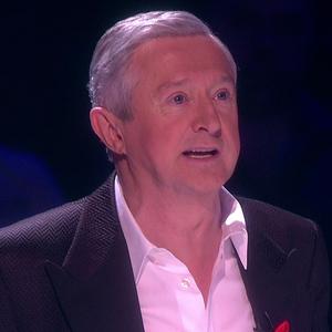 X Factor judge Louis Walsh on judging panel - 30 November.