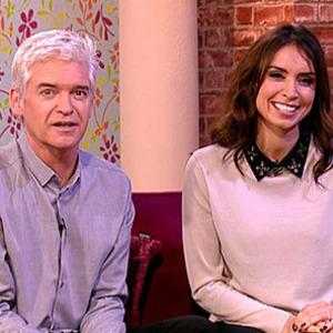 Phillip Schofield, Christine Bleakley on This Morning ITV, 2014