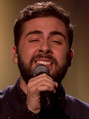 Andrea Faustini performs on The X Factor 2014: 29 November 2014