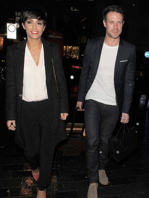 Frankie and Wayne Bridge out in London 4 December