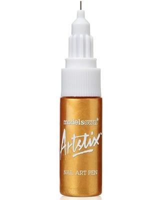 Models Own Artstix Nail Art Pen in Gold