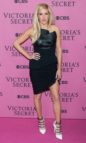 Victoria's Secret Fashion Show held at the Earls Court Exhibition Centre - Arrivals. 2/12/2014.