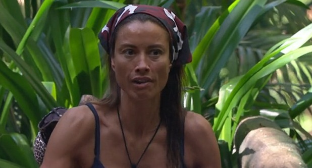 Melanie Sykes argues with Edwina Currie, I'm A Celebrity, ITV 3 December