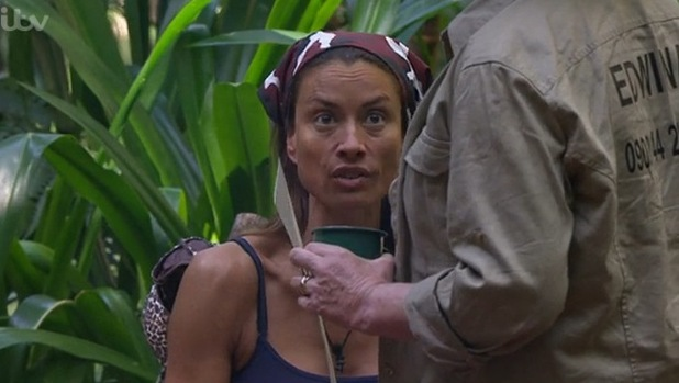 I'm A Celebrity... Get Me Out Of Here! Edwina and Mel argue/ Aired: 3 December 2014.