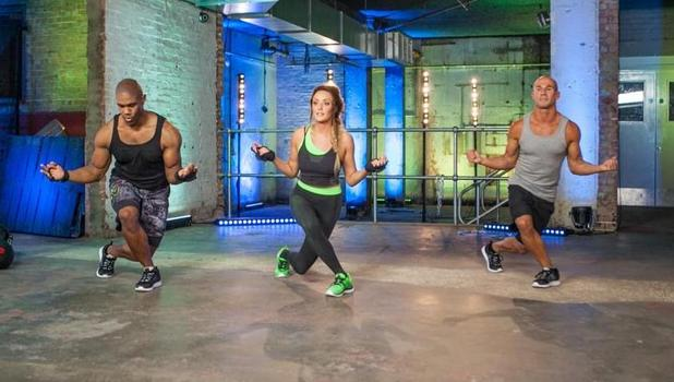 Charlotte Crosby transforms into action girl for new workout video, Dec 2014