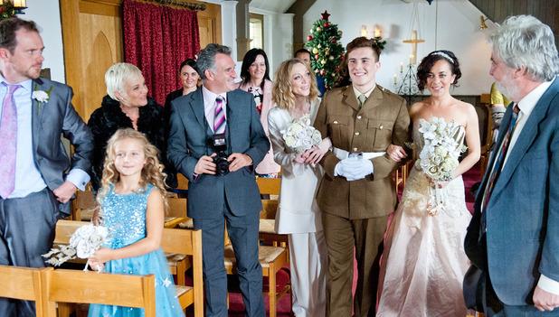 Emmerdale, Ali and Ruby get married, Fri 5 Dec